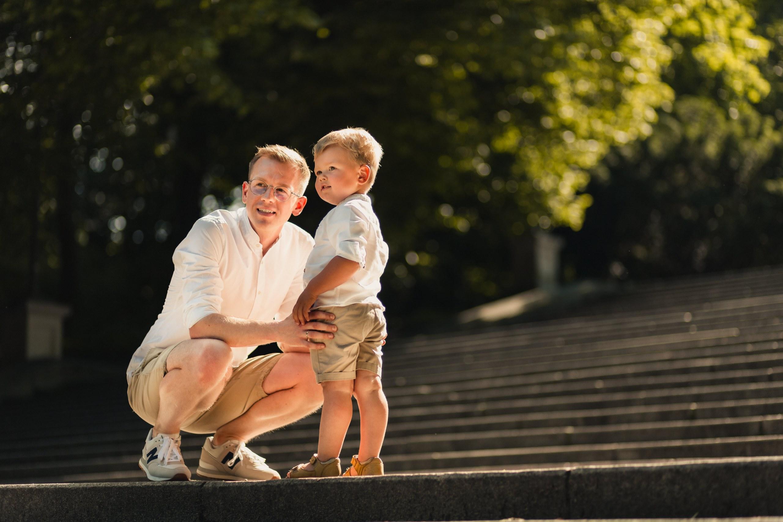 Jak być dobrym ojcem? SESJA RODZINNA, WARSZAWA